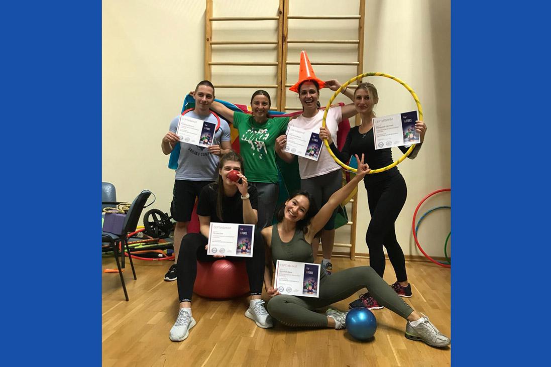 Итоги семинара «Инструктор детского фитнеса»