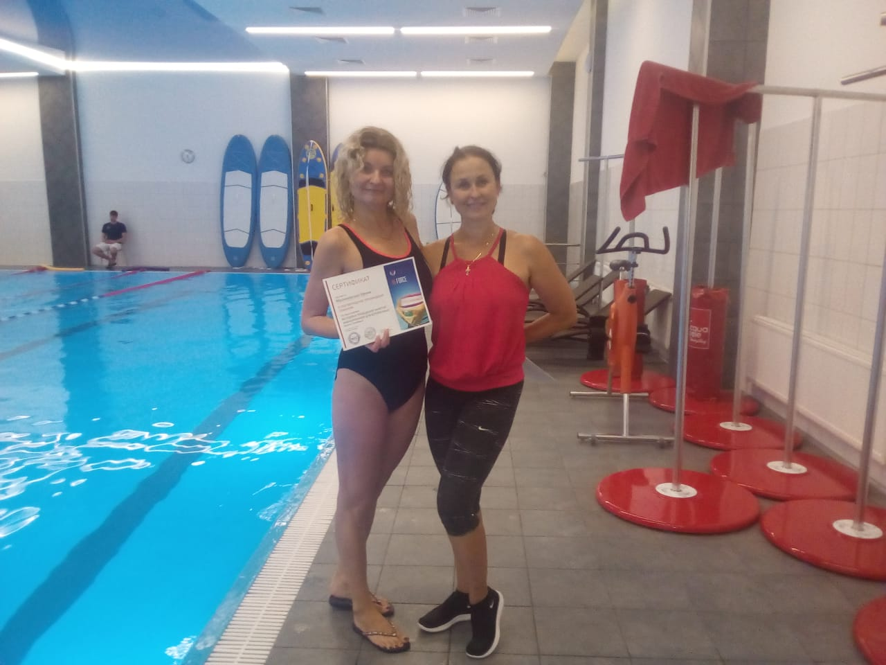 Малиновская Ирина (Спортивная школа по плаванию, г. Вязьма)