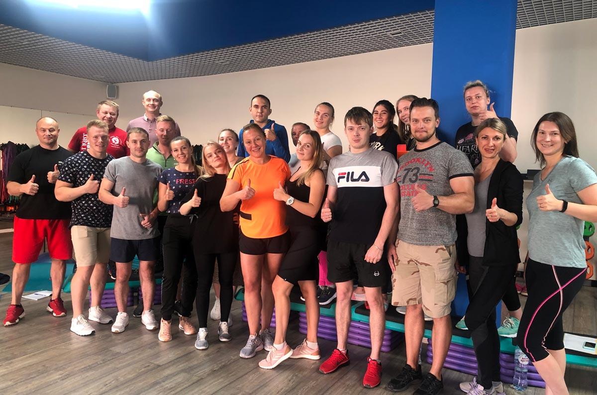 7 — 20 сентября START UP! Корпоративное обучение фитнес-персонала клуба Мой Спорт Воскресенск
